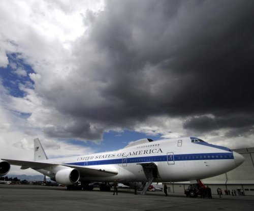 Tornado damaged two U.S. Air Force E-4B 'doomsday' planes