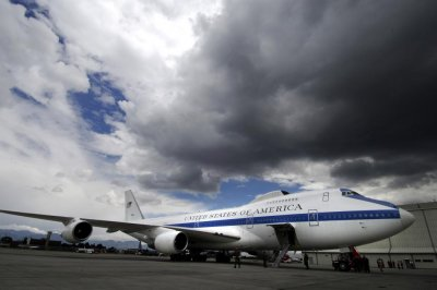Tornado damaged two U.S. Air Force E-4B 'doomsday' planes