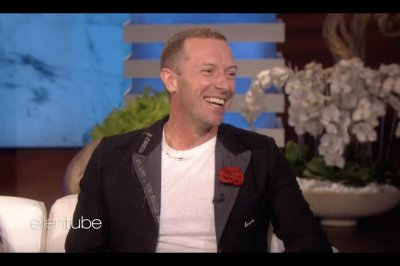 Chris Martin says he embarrassed daughter Apple at work