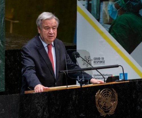 UN chief says COVID-19 impact growing; EU proposes int'l pandemics treaty