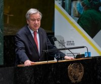 U.N. chief says COVID-19 impact growing; EU proposes pandemics treaty