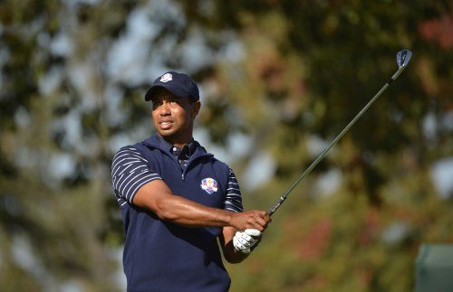 Tiger Woods leads at Doral