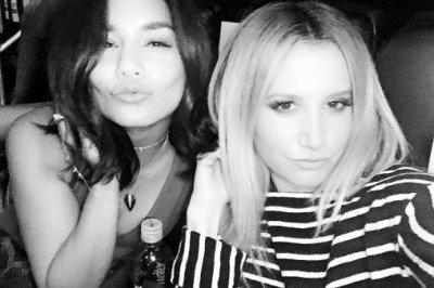 Ashley Tisdale, Vanessa Hudgens reunite at Selena Gomez show