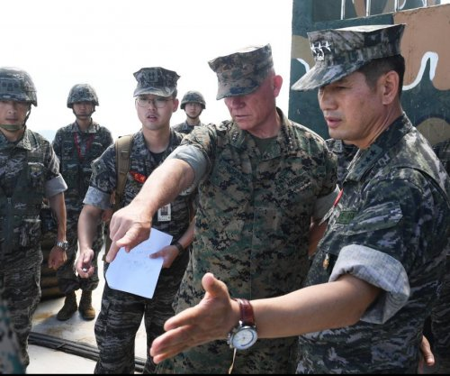 U.S. commander pledges defense of South Korea islets