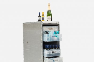 Qantas selling off stocked bar carts from retired 747s