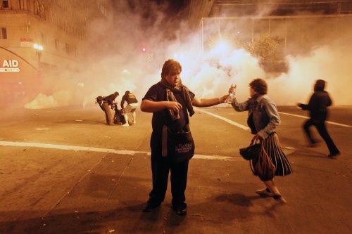 Portland shuts down Occupy encampment