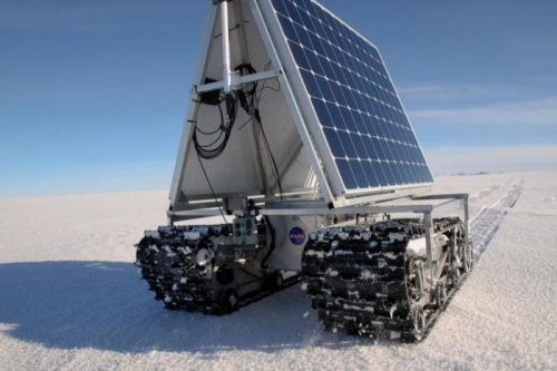 Robotic polar rover passes test in harsh Greenland environment