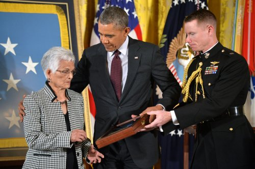 President Obama honors 24 veterans with Medal of Honor