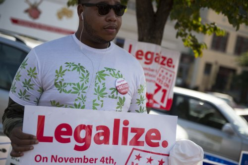 Oregon, D.C. voters approve legal marijuana