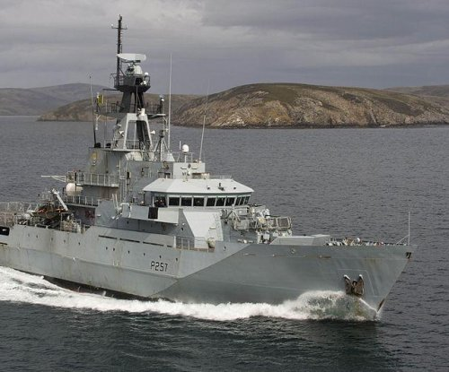 Royal Navy begins work on third offshore patrol vessel