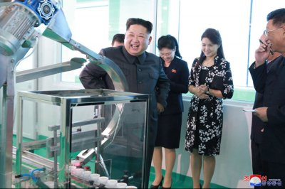 Kim Jong Un at truck plant: Sanctions make our workers' spirit stronger