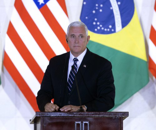 Pence, Maduro trade barbs over Venezuela's human rights