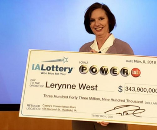 Iowa woman claims half of Powerball jackpot -- $344M