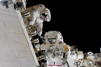 Astronauts work on ISS power upgrades in first spacewalk of 2019