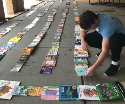 3.81-mile line of books awarded Guinness World Record