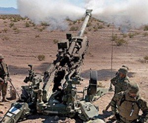 Army receiving M777 howitzers