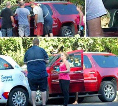 Melissa Joan Hart accidentally locked her son inside her car