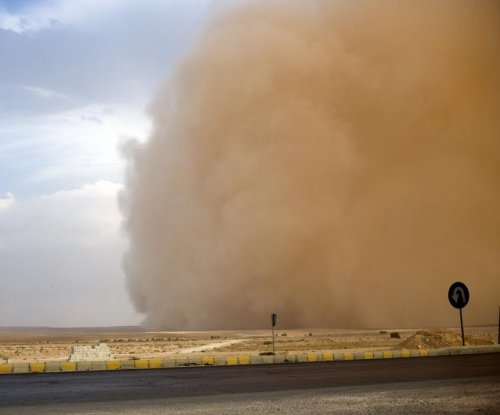 Major sandstorm overtakes parts of Dubai and Saudi Arabia, disrupts flights
