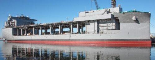 C4I suite installed on Navy's newest Mobile Landing Platform ship