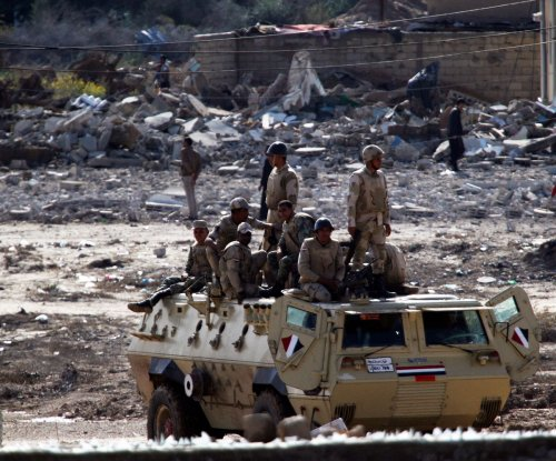 Bomb attack kills four Egyptian security personnel in North Sinai
