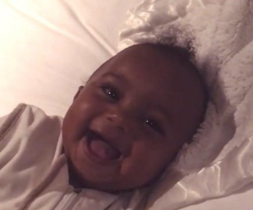 Kim Kardashian proves Saint West 'exists' with cute video
