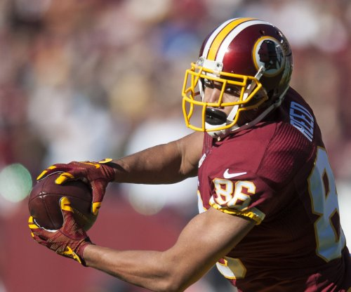 Washington Redskins TE Jordan Reed practices after playing with concussion