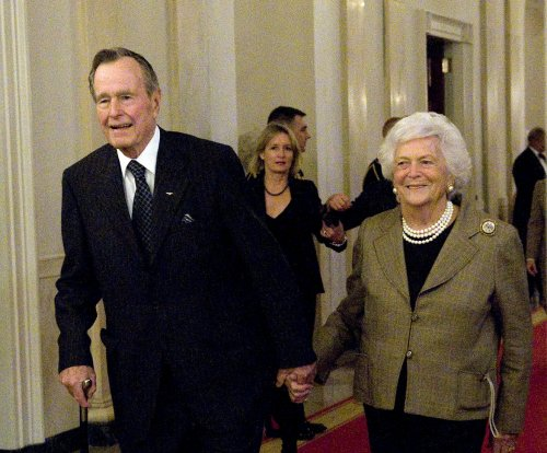 George H.W. Bush to leave intensive care; Barbara Bush released