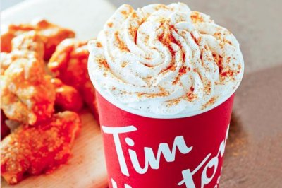 Tim Horton's releases 'Buffalo spice' latte