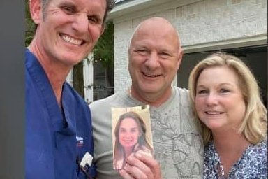 Man reunited with hurricane-blown photo of late...