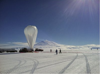 NASA science balloon sets flight record