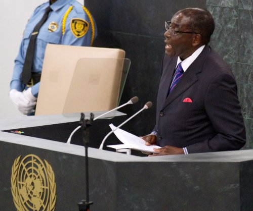 Robert Mugabe falls, attempts media coverup, becomes meme