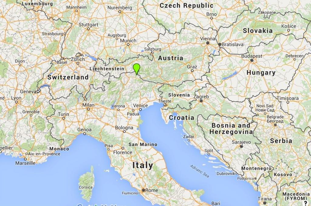 Alps World Map 3876 | ENEWS