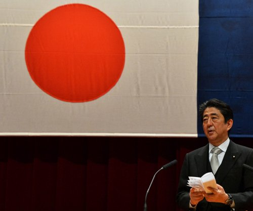 Shinzo Abe vows to defend Japan against North Korea 'threats'