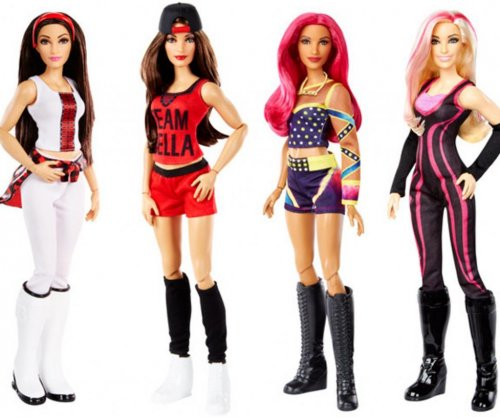 Mattel to launch collection of female WWE star dolls