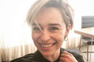 Emilia Clarke debuts new, short hair on Instagram