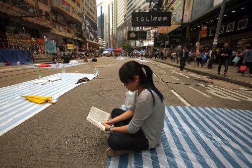 Hong Kong pro-democracy movement at impasse