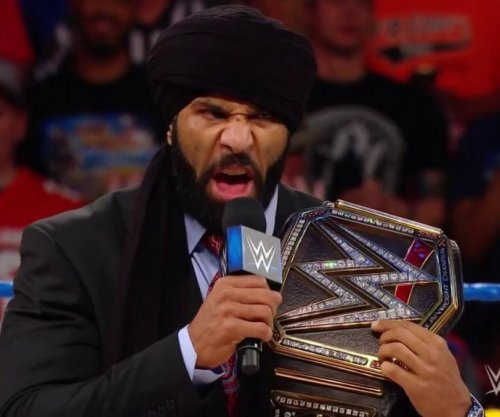 WWE Smackdown: Jinder Mahal holds Punjabi celebration