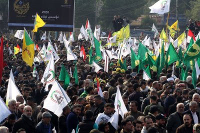 Thousands attend funeral for Iran's Soleimani