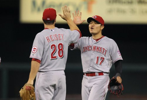 Reds win in walk-off against the Cardinals