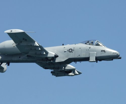 Air Force confirms use of A-10 in limited strikes in Syria