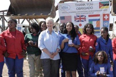 Mozambique declared land mine-free