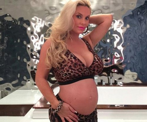 Coco Austin shows off baby bump at 36 weeks