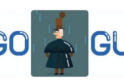 Google honors inventor of raincoat with new Doodle