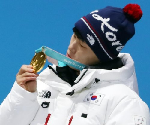 South Korean Yun Sung-bin wins men's skeleton gold medal