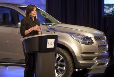 GM names its first female CEO