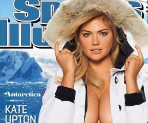Upton gets third SI swimsuit issue cover