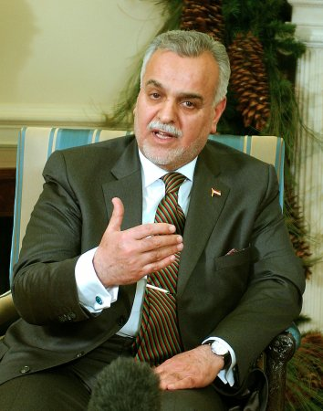 Iraqi VP frustrated with his president