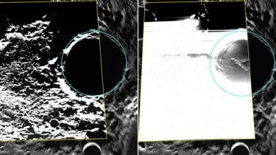 Scientists locate water ice on Mercury