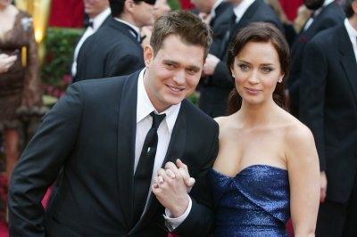 Emily Blunt discusses Michael Buble cheating rumors