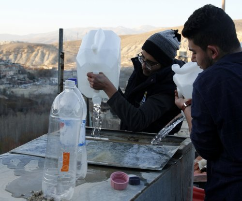 UN: Syrian jets deliberately bombed water supply near Damascus